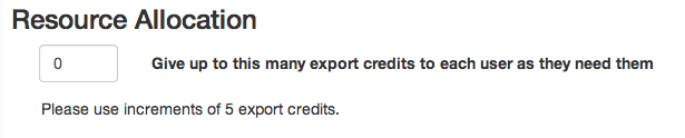 BulkAllocateExportCredits
