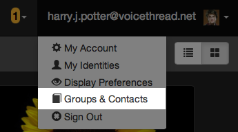 GroupsandContacts