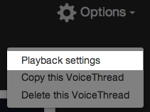 PlaybackSettings