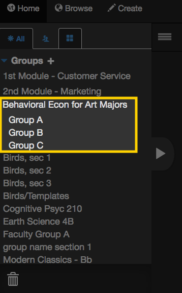 Sub-groups2